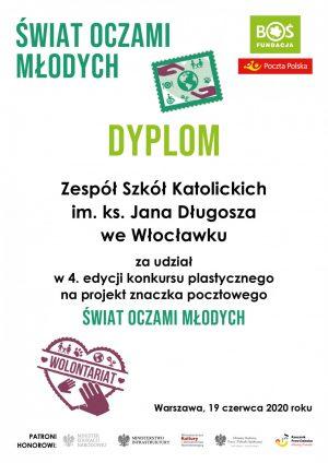 """Ogólnopolski Konkurs Plastyczny """"Świat oczami młodych"""""""