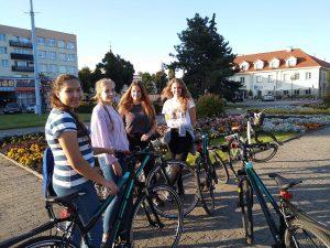 Wycieczka rowerowa wychowanków internatu