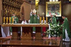 Uroczysta Eucharystia pod przewodnictwem Pasterza Diecezji