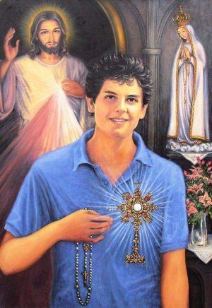 """Bł.Carlo Acutis – """"By jego przykład pomógł młodym iść drogą wiary, iuwierzyć wpowszechne powołanie doświętości"""""""