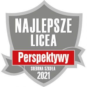 """Długosz Srebrną Szkołą wrankingu """"Perspektyw"""" 2021"""