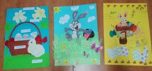 Wielkanocne prace plastyczne klas 1-3 SP