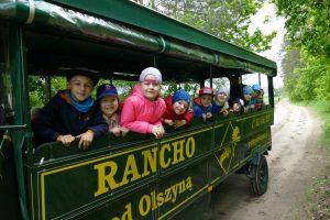 Słoneczka zwiedziły Rancho PodOlszyną