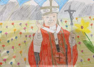 W hołdzie Wielkiemu Świętemu – Janowi Pawłowi II, naszemu rodakowi, w 101. rocznicę urodzin