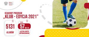"""Rządowy Program """"KLUB – Edycja 2021"""""""