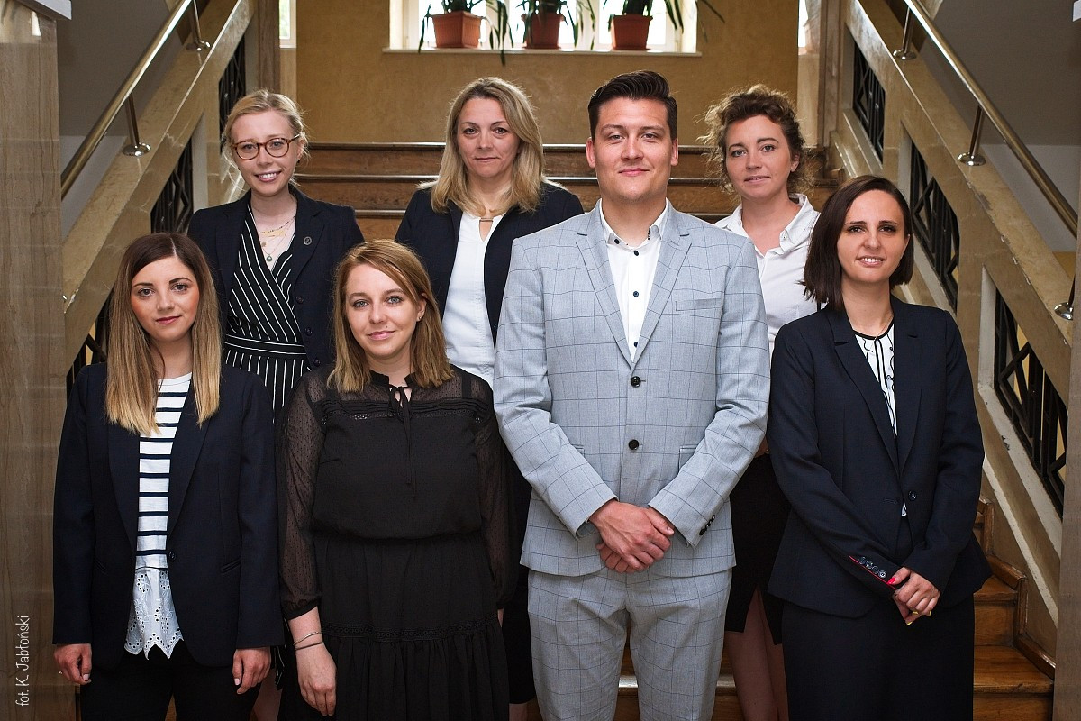 Nauczyciele ZSK, którzywroku 2021 uzyskali stopień nauczyciela kontraktowego.