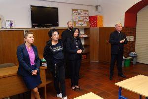 Spotkanie organizacyjne wychowanków internatu zDyrekcją iWychowawcami